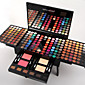 Miss Rose 180 Colors Eyeshadow Palette Matte Nude Shimmer Eye Shadow Set with Brush Mirror 6 Eyebrow 4611