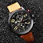 CURREN Mens Watches Top Brand Luxury Men Casual Quartz Watch Men Leather Strap Waterproof Sports Watches Relogio Masculino 4611