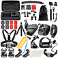 Accessory Kit For Gopro For Action Camera Gopro 6 Gopro 5 Xiaomi Camera Gopro 4 Gopro 3 Gopro 2 Gopro 3 Gopro 1 Sports DV SJCAM Skiing 4611