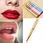 1Pcs Makeup Women Portable Retractable Cosmetic Lip Brush Lipstick Gloss Beauty Color Random 4611
