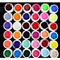 36PCS Mixs Pure Color UV Color Gel(8ml) 4611