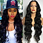 Natural Color Body Wave Wig Sexy Fashion Natural Wig for Women Hot Design High Quality Heat Resistant Synthetic WIgs 4611