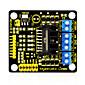 Keyestudio New L298N Shield Dual H Bridge DC Stepper Drive Controller Board Module for Arduino Smart Car Robot 4611