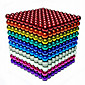 Magnet Toys 216 Pieces 5 MM Magnet Toys Building Blocks Magnetic Balls Executive Toys Puzzle Cube For Gift 4611