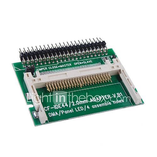 CompactFlash CF-Karte auf IDE-Festplatte Adapterkarte (ide-44)