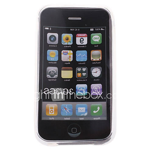 étui de protection en silicone pour iPhone 3G (cristal)