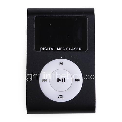 USD  11,95 - MP3-Player mit MicroSDHC TF-Karte - Schwarz