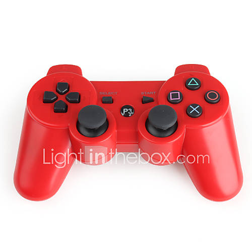 Mando Wireless DualShock 3 para PlayStation 3 (Rojo) Descuento en Miniinthebox