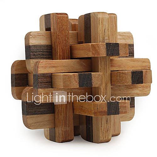Magic Cube Wooden Puzzle IQ Brain Teaser Professional Level Speed Wooden 12pcs Classic  Timeless Boys' Gift