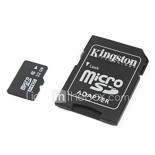 Classe 32gb 6 microSDHC memory card