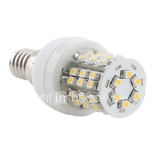 3W E14 LED Corn Lights 48 SMD 3528 150 lm Warm White AC 220-240 V