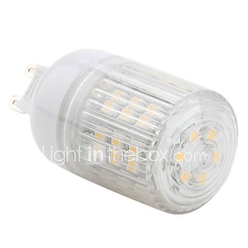 G9 LED Corn Lights T 48 SMD 3528 150lm Warm White 2800K AC 220-240V
