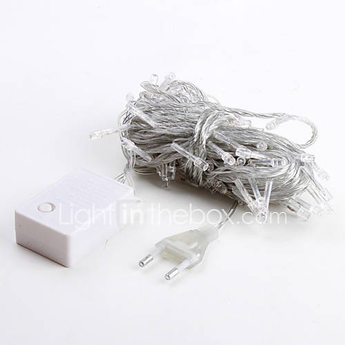 String Lights 100 LEDs Warm White 220V