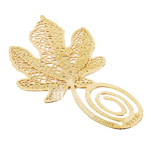 novità foglie d'acero modello preferito (d'oro)