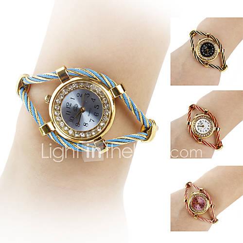 Orologio-bracciale da donna, in acciaio, analogico