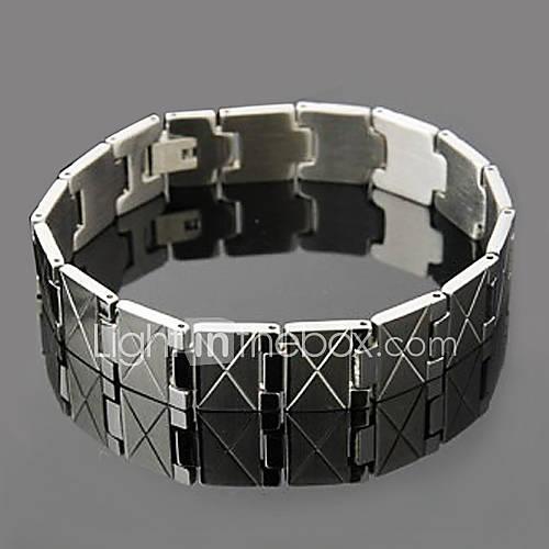 Купить мужской браслет из нержавеющей стали (серебро) в интернет магазине ОКЕАН СКИДОК по лучшей цене. мужской