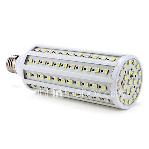 e27 26w 1600lm 6000K 132x5050 SMD ampoule blanche naturelle de maïs led (220v)