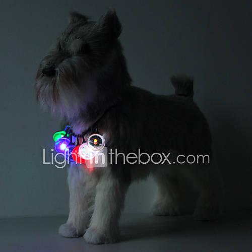 Luz de Seguridad de Mascotas LED con Gancho (Colores Surtidos) Descuento en Miniinthebox