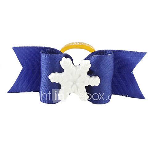 Elegante Snowflake Style Piccolo regolabile Papillon