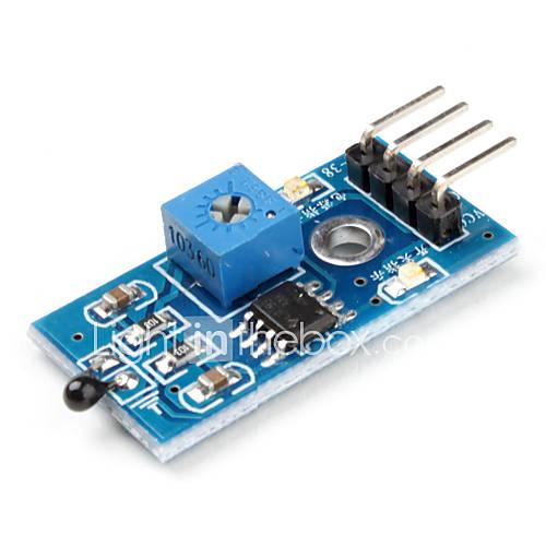 Heat-Sensitive Temperaturschalter Sensor-Modul mit DuPont Linien