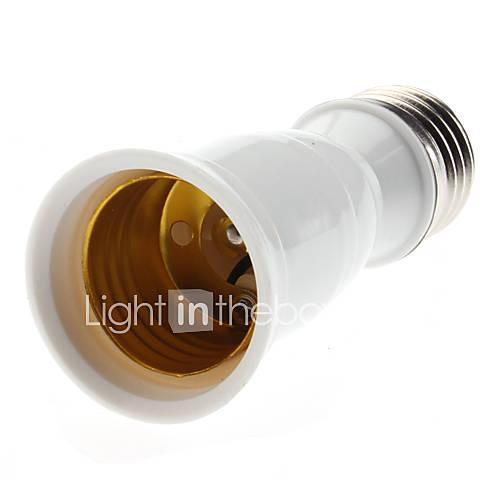 E27 auf E27 LED Leuchtmittel Sockel Adapter