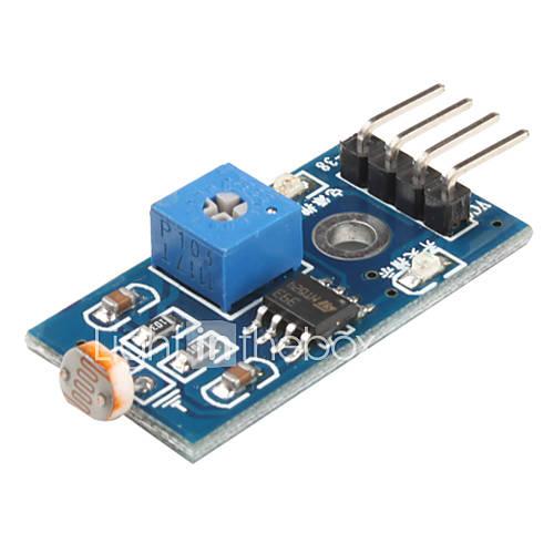 6495 Fotowiderstand Light Sensor Module für Smart Car (Black & Blue)