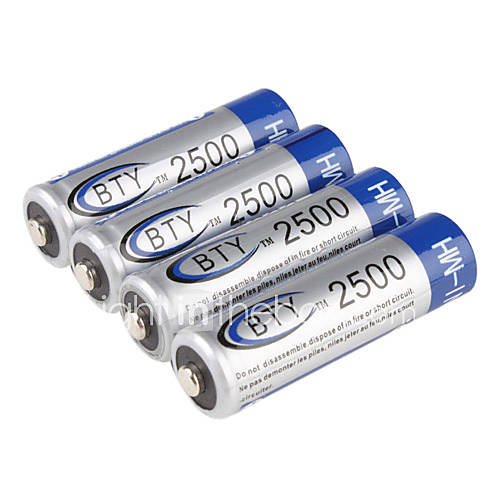 BTY AA Ni-MH batteria ricaricabile (1