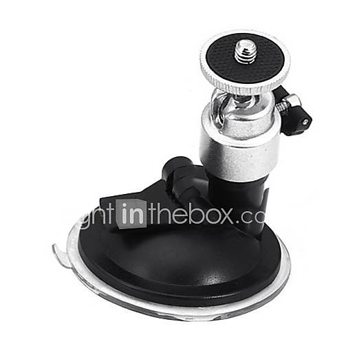 Suction Cup Ballhead Mount Tripod Holder for Car Window Screen DVR DV GPS Camera