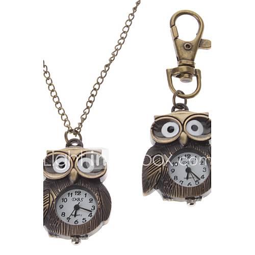 Unisex Owl Style lega analogico al