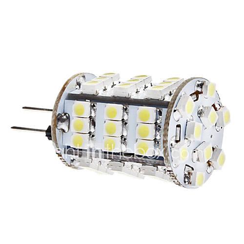 G4 3.5W 54x3528 SMD 240-260LM 6000-6500K Natural White Light LED Corn Birne (12V)
