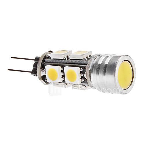 G4 3.5W 9x5050 SMD 250-270LM 3000-3500K Warm White Light LED Corn Birne (12V)