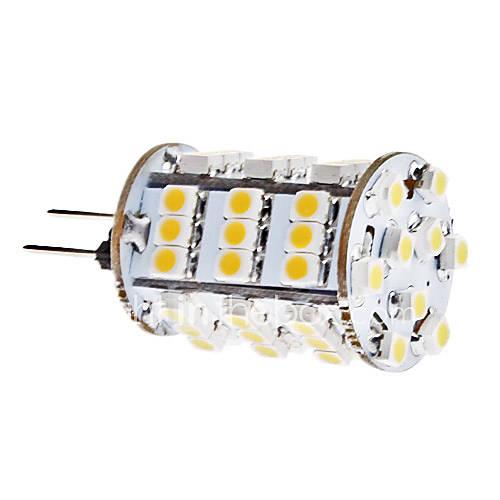 G4 3.5W 54x3528 SMD 240-260LM 3000-3500K Warm White Light LED Corn Birne (12V)
