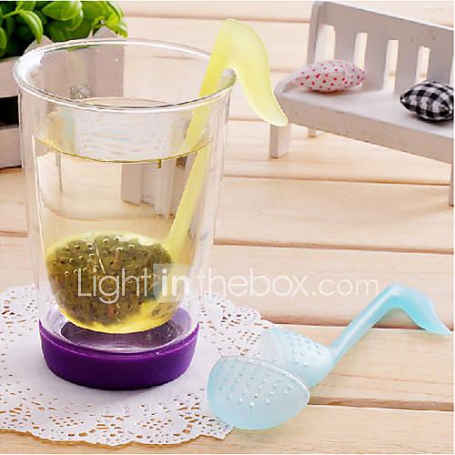 thé symbole phonétique en forme de feuilles de filtre filtre (couleur aléatoire)