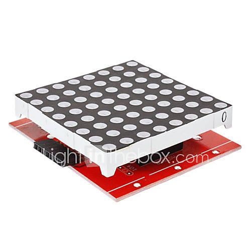 8x8-LED-Display Punktmatrix-Kit für 74HC595 (für Arduino) 328