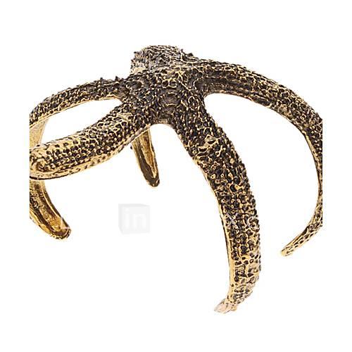Vintage Bracelet Etoile de mer de la personnalité d'ouverture
