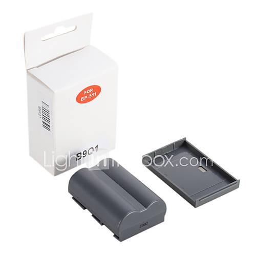 Li-Ionen-Akku für Canon 50D 40D 30D 5D BP-511A