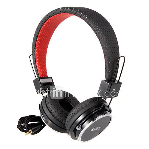 SON AMI pliant mode écouteur de Sur-Oreille avec télécommande SF-SH011 (Noir, Bleu, Blanc)