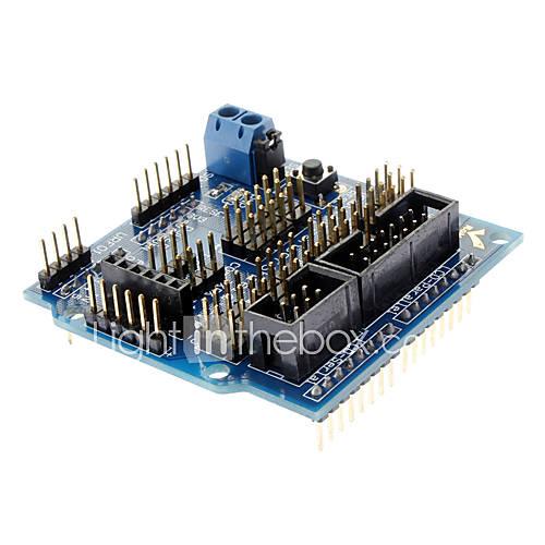 kompatibel (für Arduino) Sensorabschirmung v5.0 Sensor-Erweiterungsplatine