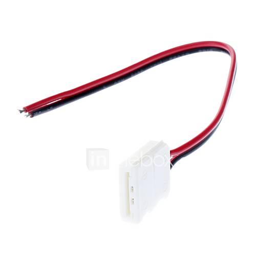 5050 SMD LED Streifen Licht AWG22 Einseitige Lamp Anschluss (12V-24V)