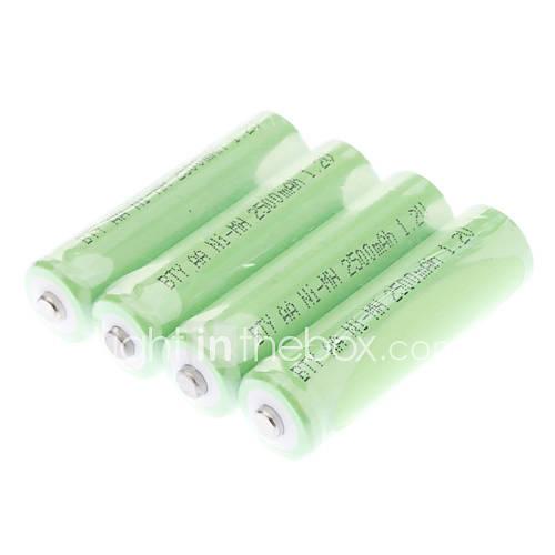 BTY 2500mAh batteria AA (verde, 4