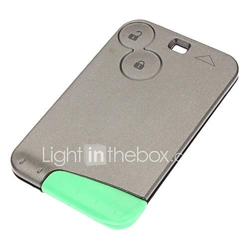 2 pulsanti Smart Card Shell chiave