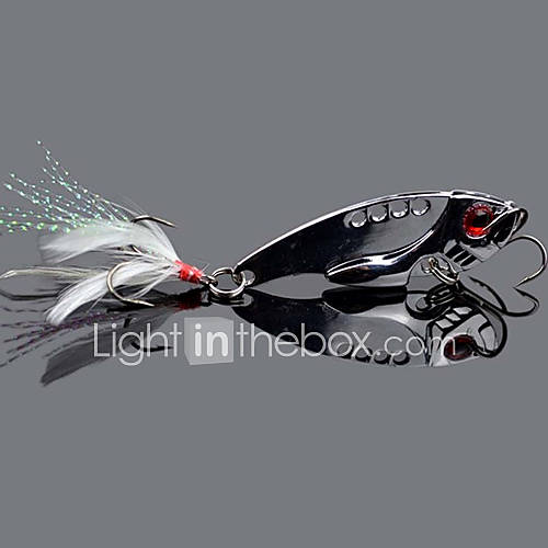1 pcs Vibration/VIB Fishing Lures Metal Bait Hard Bait Plastic Easy to Use Lure Fishing