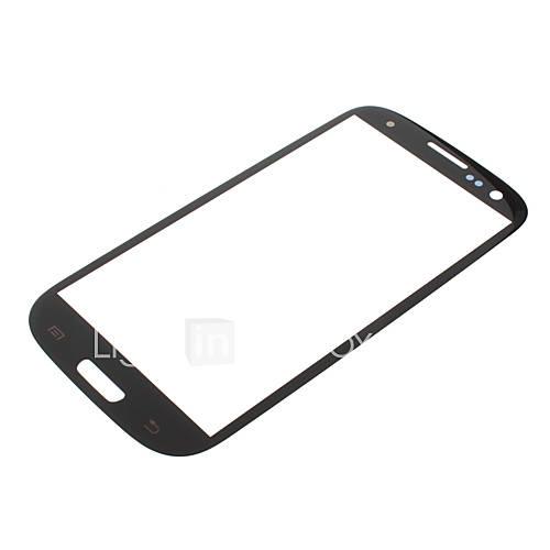 LCD-Bildschirm Frontscheibe Objektiv für Samsung Galaxy S3 I9300
