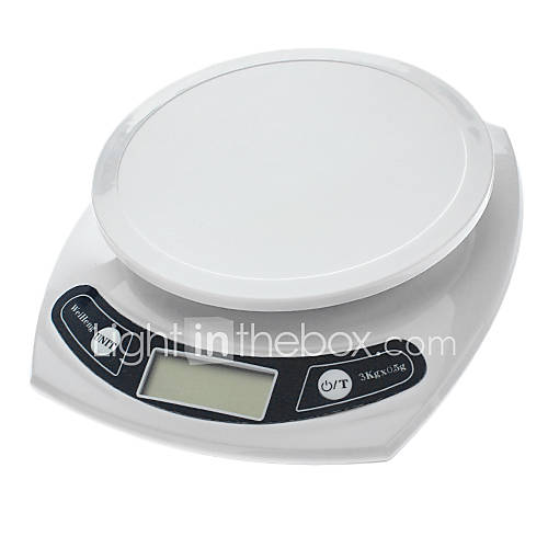 1.7 ``LCD Digital Kitchen Scale