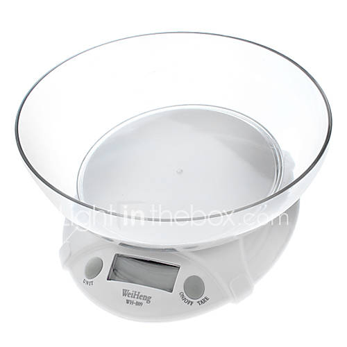 1.8 ``LCD Digital Kitchen Scale