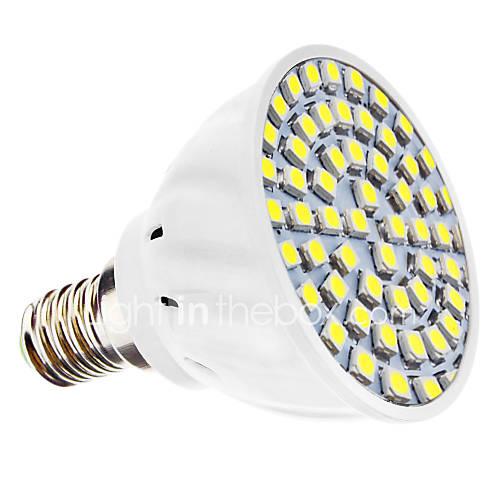 MR16 4W Warm White 360LM SMD 3528 LED Spotlight Bulb 12V DC 10523