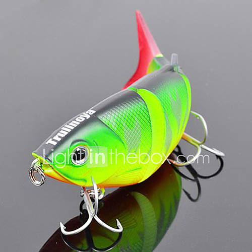 Trulinoya-Hard Mini Bait Four-section Minnow 80mm/10g Slow Sinking Fishing Lure