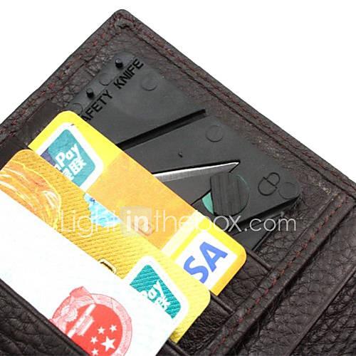 Mini-Klappkreditkarte Stil Sicherheits Outdoor-Tool