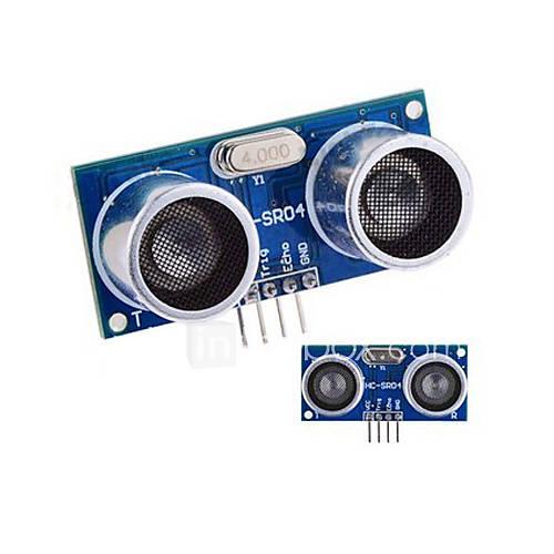 Ultraschall-Sensor HC-SR04 Abstands-messendes Modul - Blau  Silber