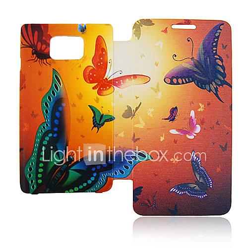 Housse en cuir pour Samsung Galaxy Papillon S2 I9100